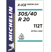 305/40 R20 112T Michelin X-Ice Snow SUV XL