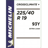 225/40 R19 93Y Michelin CrossClimate+ XL M+S