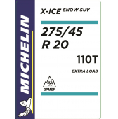 275/45 R20 110T Michelin X-Ice Snow SUV XL