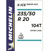 235/50 R20 104T Michelin X-Ice Snow SUV XL