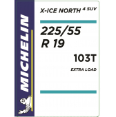 225/55 R19 103T Michelin X-Ice North 4 SUV XL