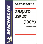 285/30 ZR21 (100Y) Michelin Pilot Sport 4 S XL