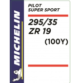 295/35 ZR19 (100Y) Michelin Pilot Super Sport
