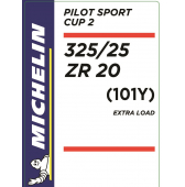 325/25 ZR20 (101Y) Michelin Pilot Sport Cup 2 XL