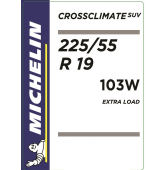 225/55 R19 103W Michelin CrossClimate SUV XL M+S