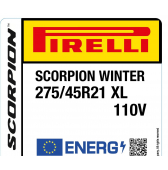 275/45 R21 110V Pirelli Scorpion Winter XL