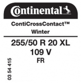 255/50 R20 109V Continental CrossContactWinter XL FR