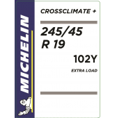245/45 R19 102Y Michelin CrossClimate+ XL M+S