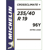235/40 R19 96Y Michelin CrossClimate+ XL M+S