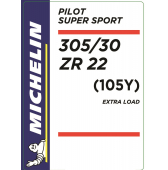 305/30 ZR22 (105Y) Michelin Pilot Super Sport XL