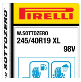 245/40 R19 98V Pirelli Winter Sottozero XL